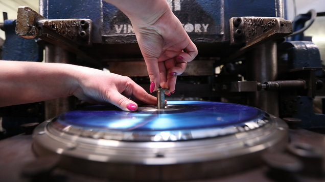 The making of a vinyl record (Jonathan Brady/PA)