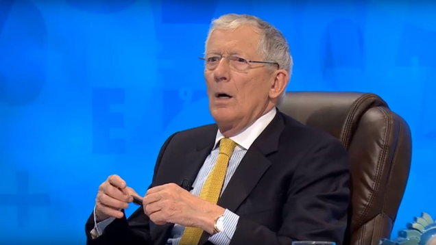 Nick Hewer shocked as rude word crops up on Countdown (Channel 4 grab)