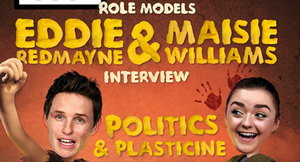 Eddie Redmayne and Maisie Williams were interviewed by The Big Issue (The Big Issue/PA)