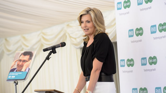 Penny Lancaster reveals dyslexia diagnosis at 46 (Matt Crossick/PA)