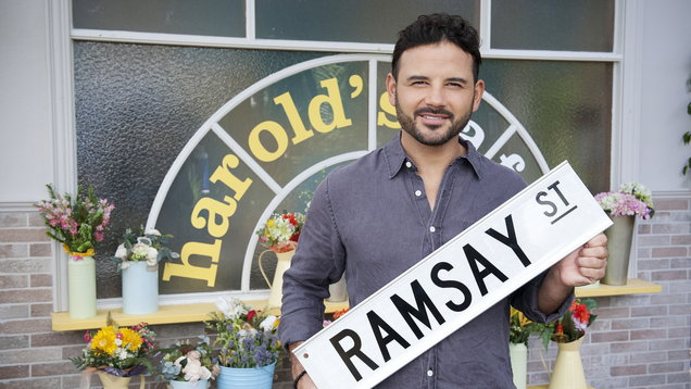 Ryan Thomas will make his Neighbours debut in an action-packed special episode (Channel 5/Neighbours)