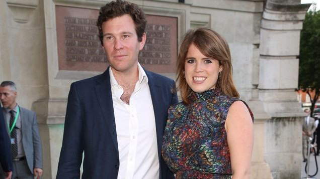 What Princess Eugenie Wore to Announce Her Royal Engagement