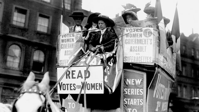 100 years since women won the vote
