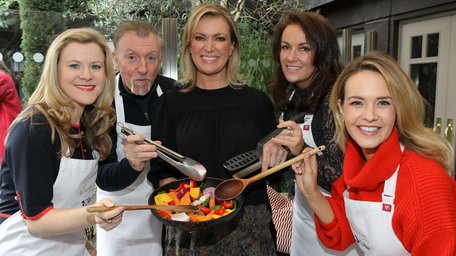TV3 reveals the six celebrities who will be donning aprons for the brand new series of The Restaurant