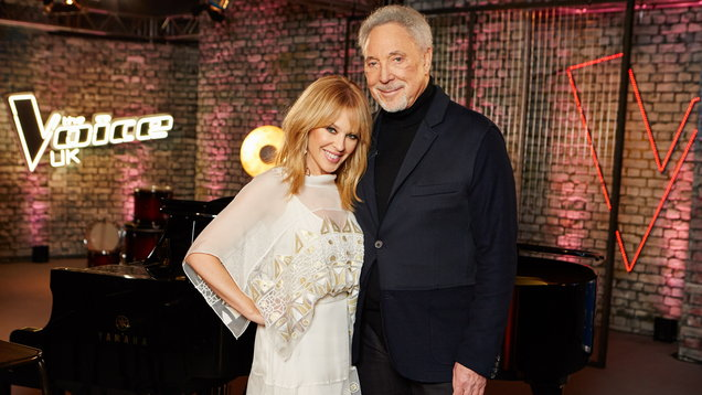 Sir Tom Jones and Kylie Minogue (ITV)