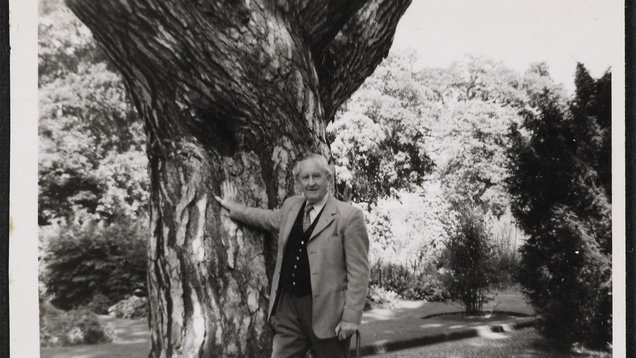 JRR Tolkien in 1973 (The Tolkein Trust)