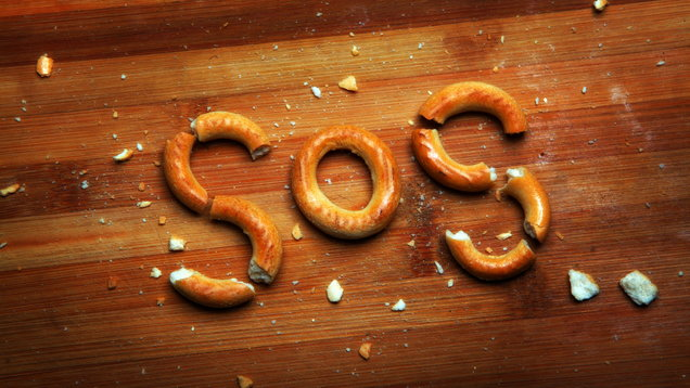 Bagel Text Studio quality Wooden background Baranka