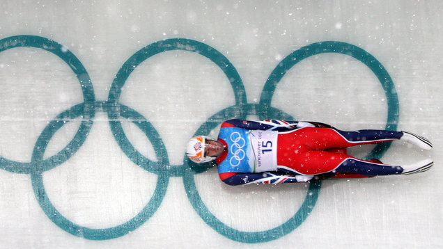 Winter Olympics - 2010 Winter Olympic Games Vancouver - Luge Training