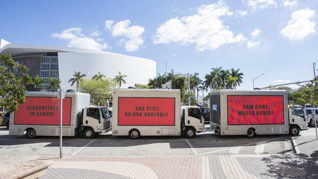 The protest in Miami (Jesus Aranguren/Avaaz)