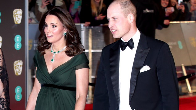 The Duke and Duchess of Cambridge attending the EE British Academy Film Awards held at the Royal Albert Hall (Yui Mok/PA)