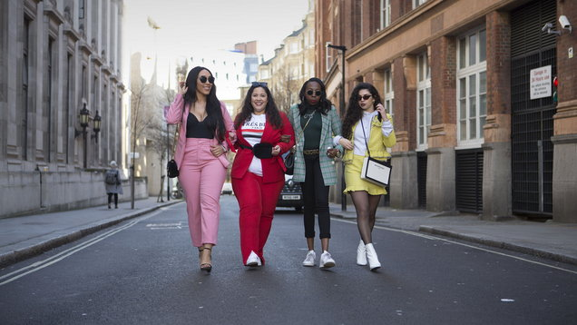 Street Style - London Fashion Week February 2018