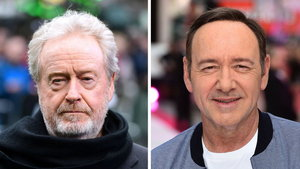 Sir Ridley Scott says he hasn't heard from Kevin Spacey (PA)