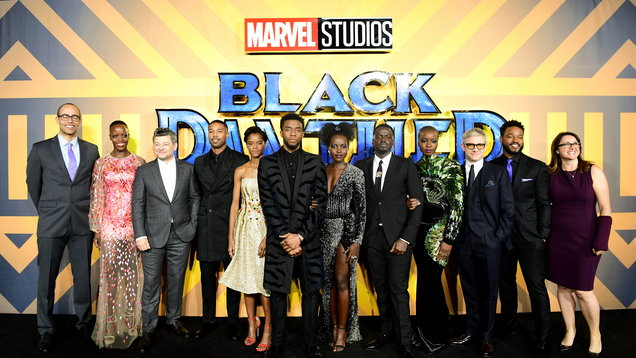 Black Panther European Premiere - London