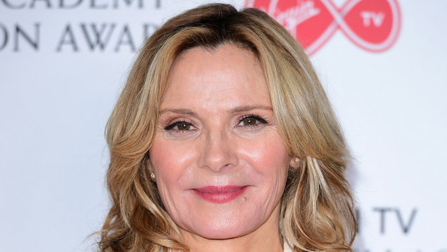 Kim Cattrall attends her late brother's memorial service in Edinburgh