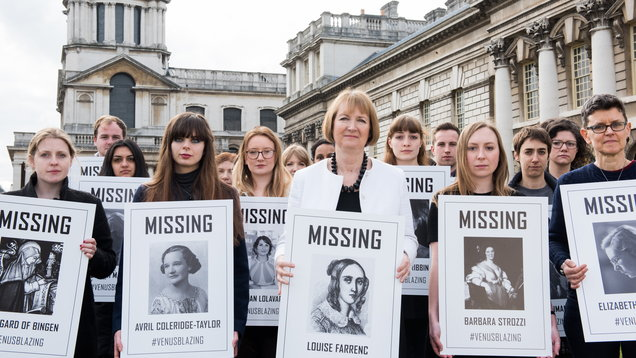 Harriet Harman launches a fight for women composers (Juno Snowdon)