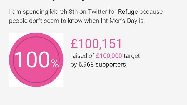 Richard Herring raised £100,000 (Screengrab/@Herring1967)