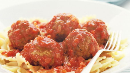 Spicy Baked Meatballs
