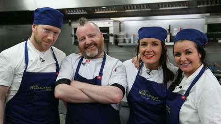It's doctor's orders as Dr Ciara Kelly steps into the kitchen on The Restaurant