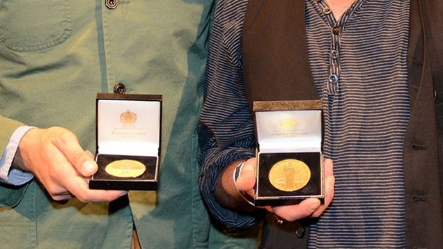 Kate Greenaway Medal and the Carnegie Medal (CILIP/PA)