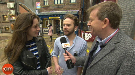Alan Visits The New Coronation Street Set