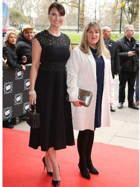 6f6fc5c14bc58 Lorraine attended the TRIC Awards earlier this week and revealed a very  glamorous look which is a million miles away from Karen.