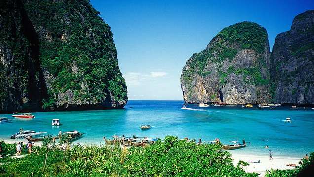 Thailand's Maya Bay to close temporarily to recover from barrage of tourism
