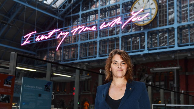 Tracey Emin was 'going to punch sexual harasser'