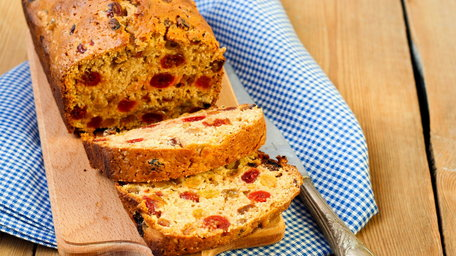 Citrus Fruit Loaf with Coconut Flour