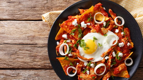Drunken Chilaquiles
