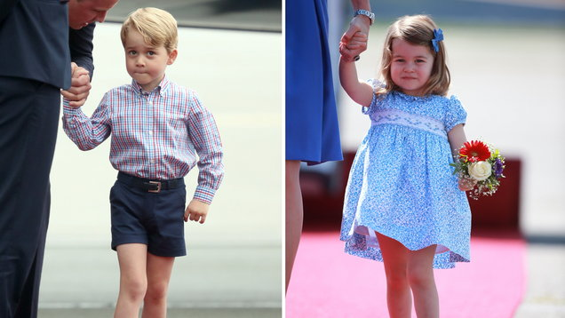 How Princess Charlotte nearly  stole the show