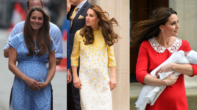 Kate is now a mum of three: Here's how her postnatal style has evolved