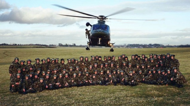 [PICS] Irish cadets set to run from East to West for INCREDIBLE cause