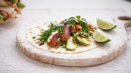 Mexican Lime Marinated Tequila Chicken Quesadillas
