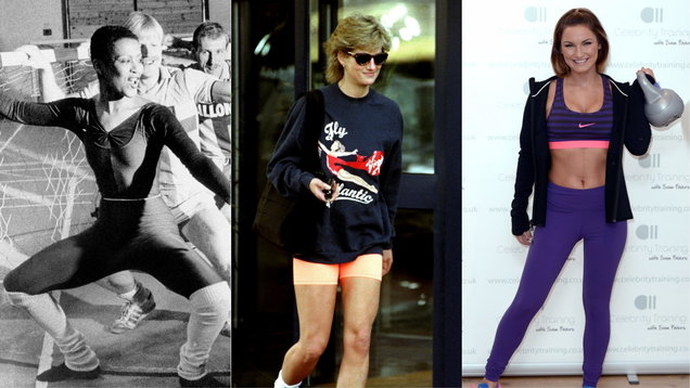 Fitness fashion through the decades, from leotards to athleisure