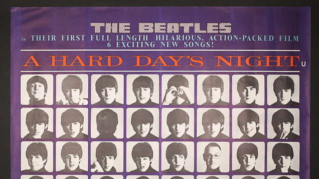 The Beatles A Hard Day's Night poster is one of hundreds going under the hammer (Prop Store)