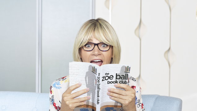 Zoe Ball, presenter of a new TV book club, says she adores reading (The Zoe Ball Book Club)