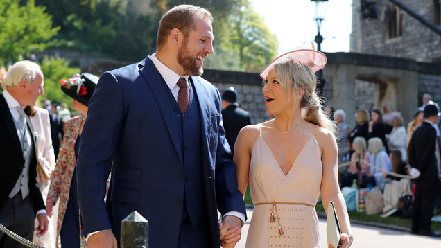 Chloe Madeley strayed from traditional royal wedding dress code and people aren't happy
