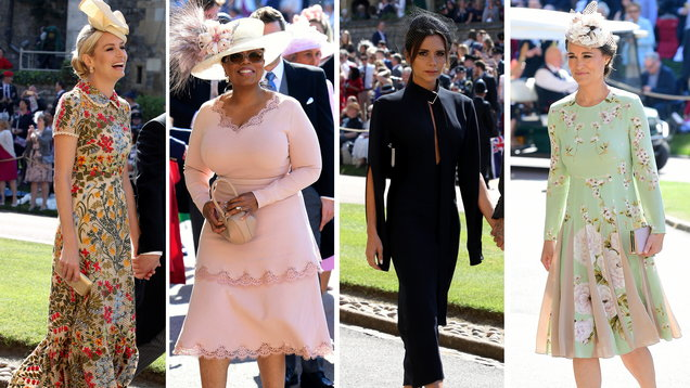 Royal wedding guests: Who was the best dressed?