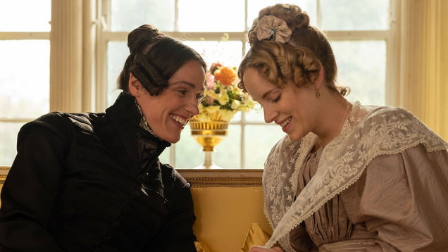 Suranne Jones and Sophie Rundle in Gentleman Jack (Lookout Point/Matt Squire/BBC)