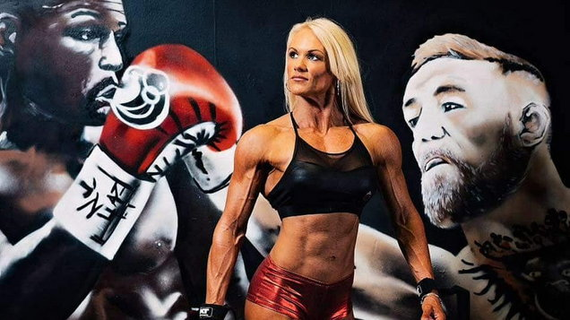 PA Real Life-Jo Griffiths-Bodybuilder