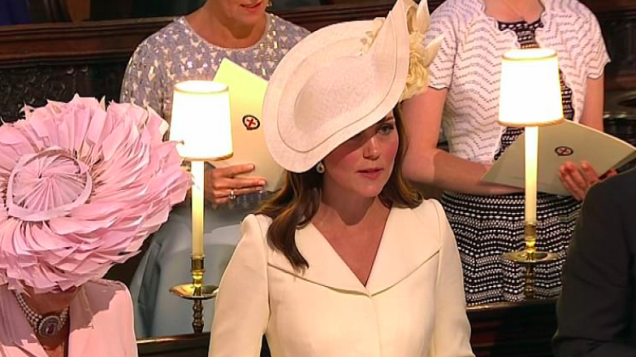 [WATCH] The internet is LIVING for Kate's side-eye towards Camilla during Bishop's passionate speech