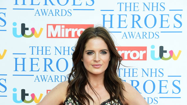 Binky Felstead's home suffers flood damage during storm