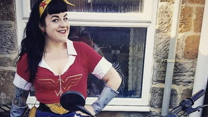 PA Real Life - Dorrie Fearnley - viking to Wonder Woman