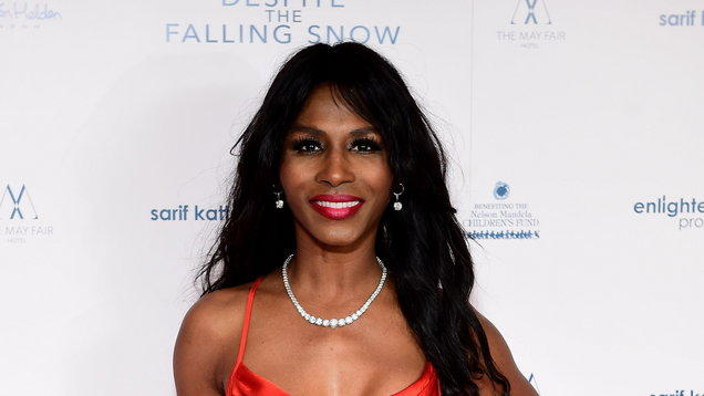 Sinitta says she was pinned down on bed by guest at Simon Cowell's villa