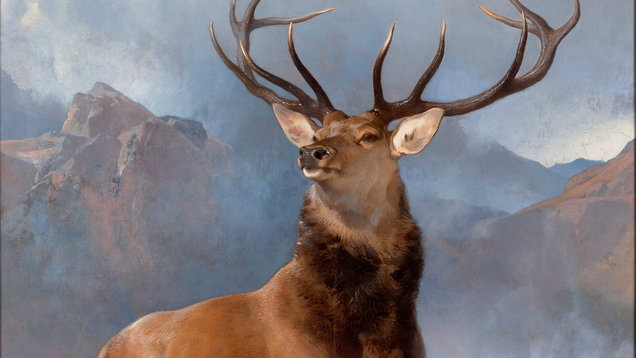 Edwin Landseer The Monarch Of The Glen, Scottish National Gallery (National Galleries of Scotland)
