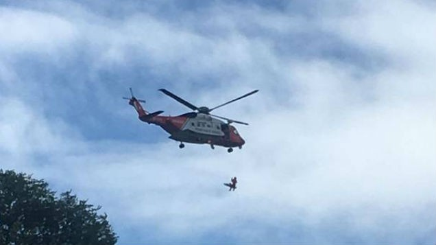 Woman airlifted to hospital with 'multiple injuries' following Killiney rescue