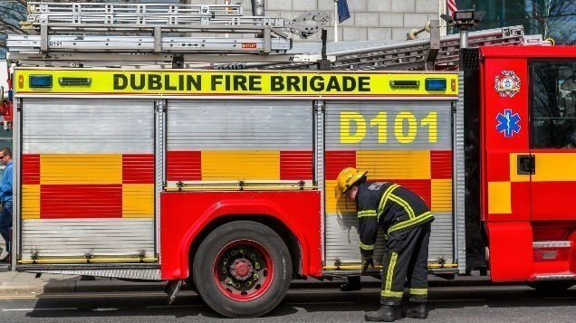 [BREAKING] Major delays expected as part of Parnell Street CLOSED after blaze breaks out