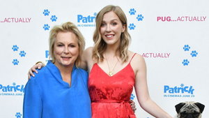 Jennifer Saunders and Beattie Edmondson