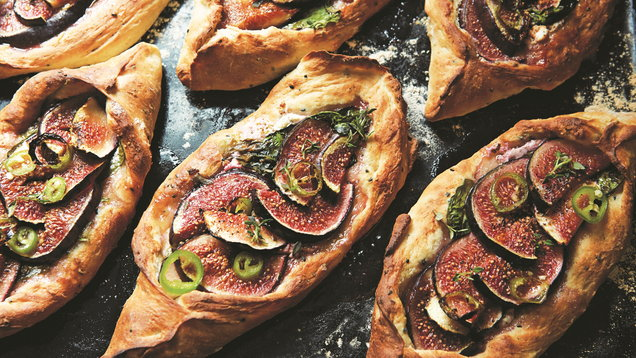 Honey & Co. Fig Pide, FT Magazine