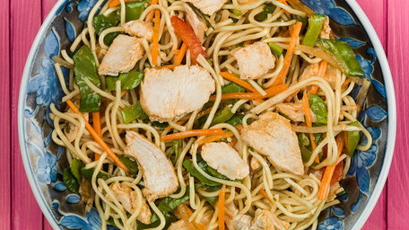 Sweet Chilli Chicken Noodle Salad